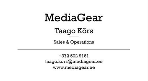 TaagoKors-visiitkaart