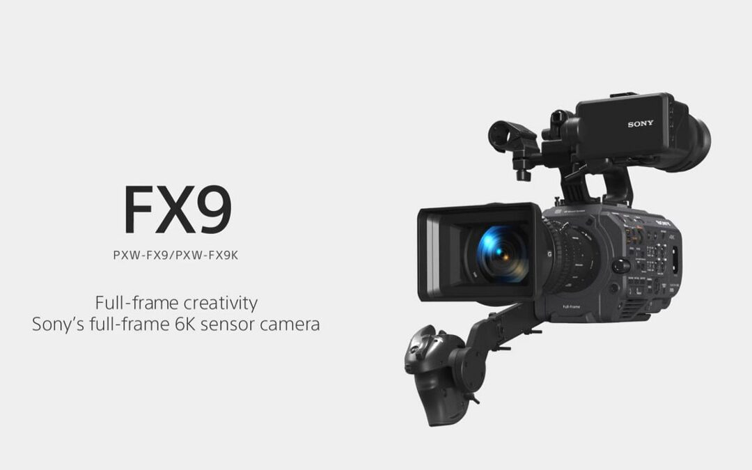 NEW! Sony PXW-FX9 full-frame camera