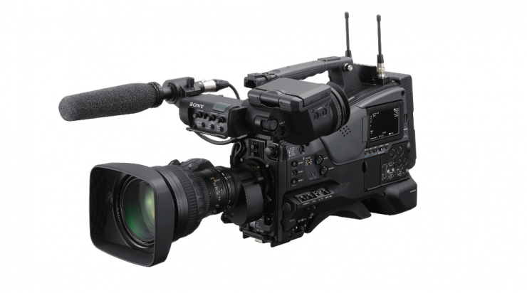 NEW! Sony PXW-Z750 4K HDR shoulder-mount camcorder