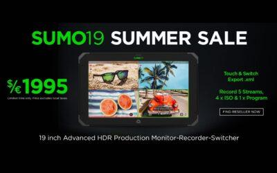 Atomos SUMO 19 Summer Sale